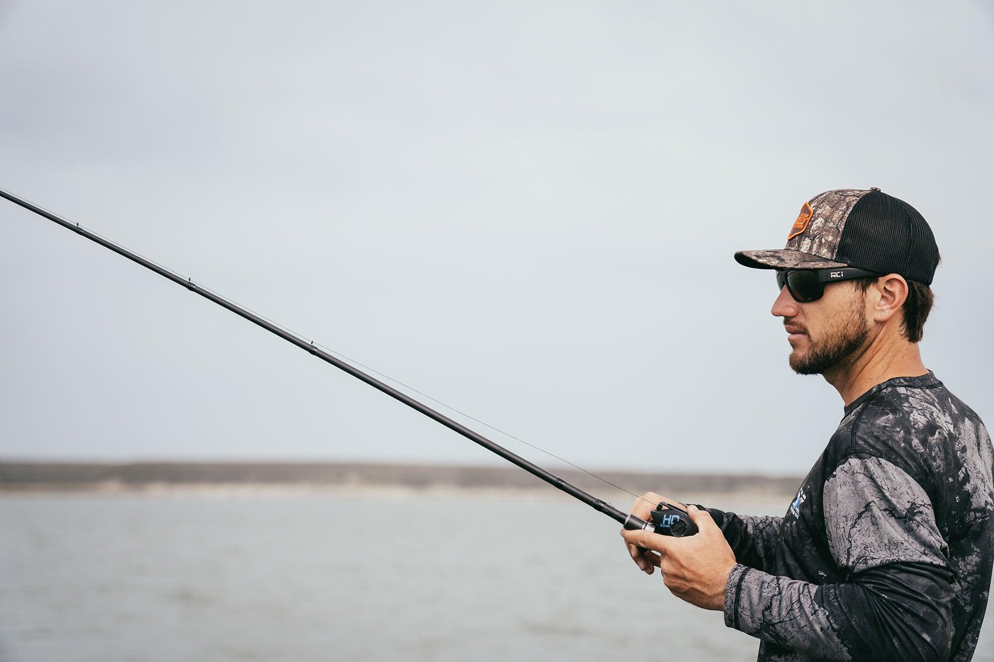Bassmaster Elite Series Angler Stetson Blaylock fishes Amistad Reservoir.