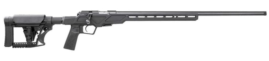 A CZ rifle on a white background.