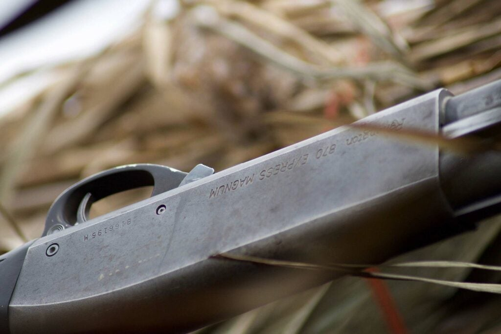 A pump shotgun is the most reliable firearm for walk-in hunts.