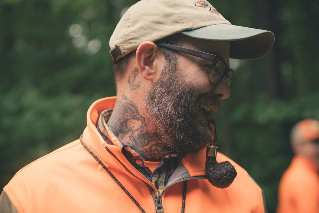 Jay Dowd, tattoos and all, is a prime example of where upland hunting is headed.