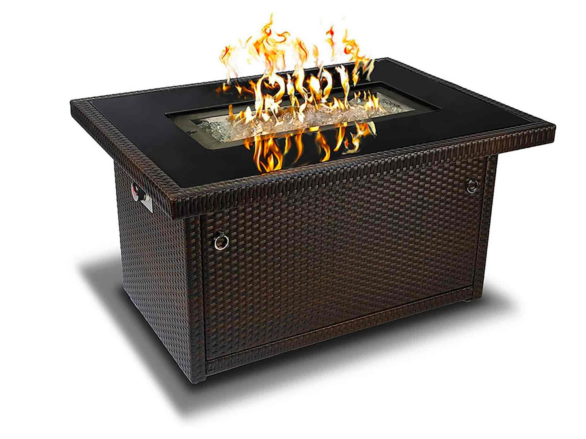 Outland Living Series 403-Espresso Brown Fire Table, Espresso Brown/50,000 BTU
