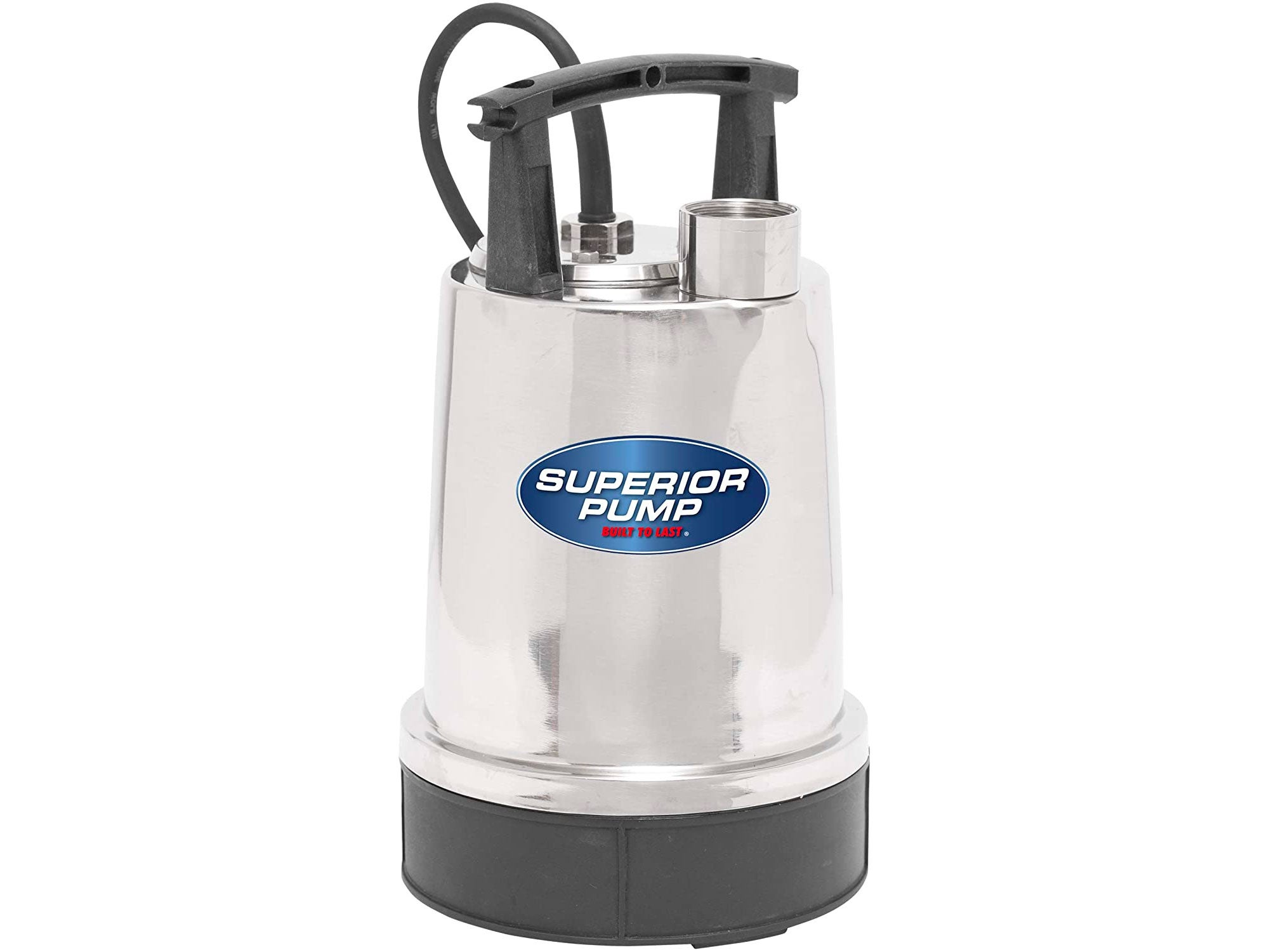 Superior Pump Stainless 1/2 HP Steel Utility Pump.