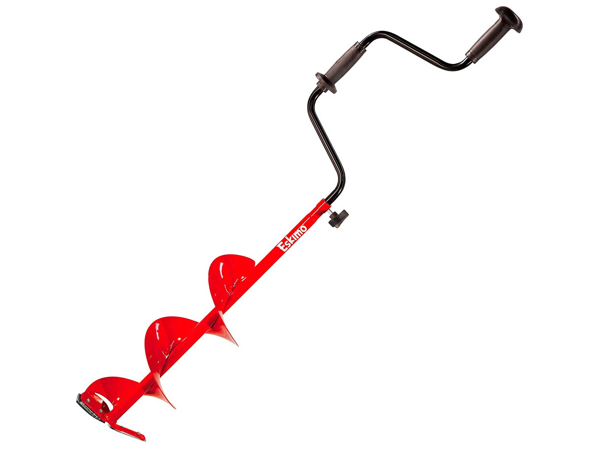 Eskimo Hand Auger with Dual Flat Blades, 6 - 8 Inch