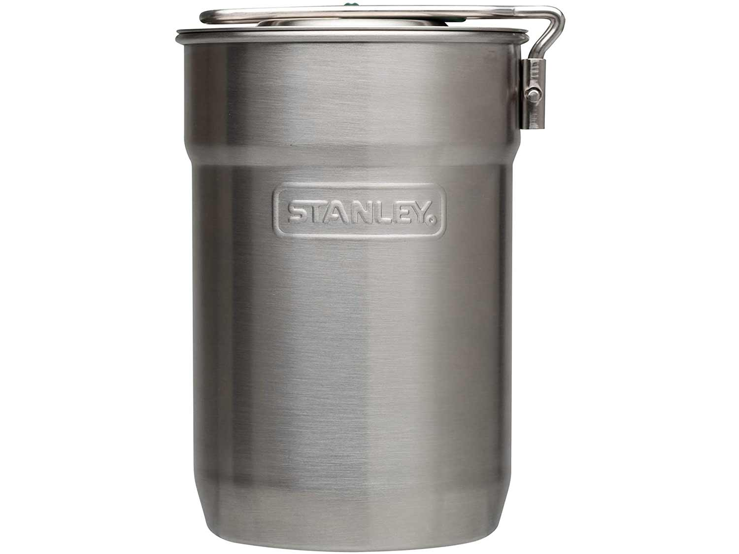 Stanley stainless steel cooking pot.