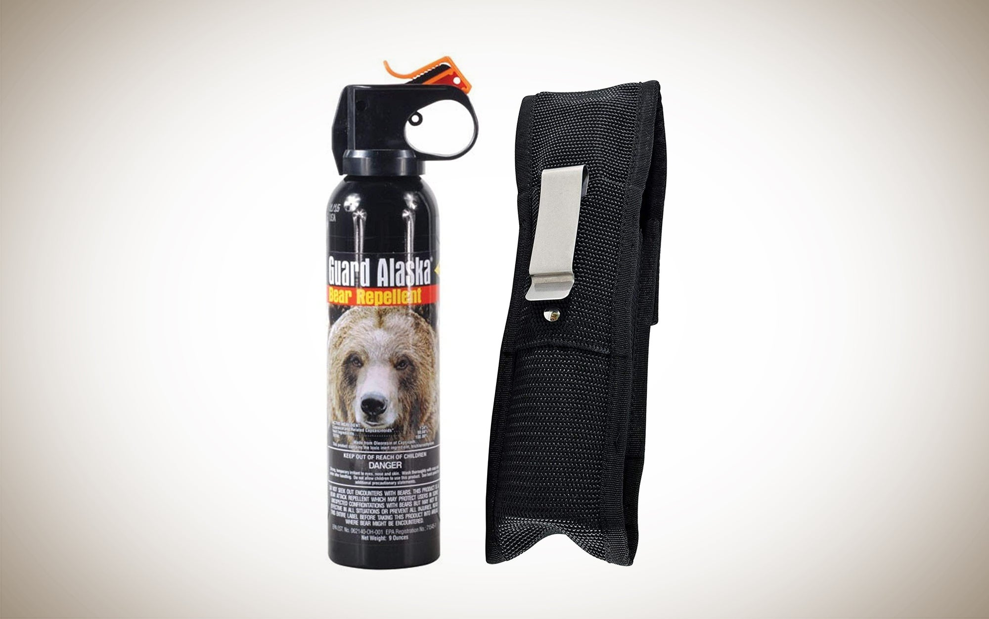 Guard Alaska Bear Spray is one of the best bear repellent options and one of our must-have camping accessories.