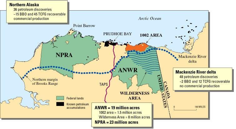 ANWR map