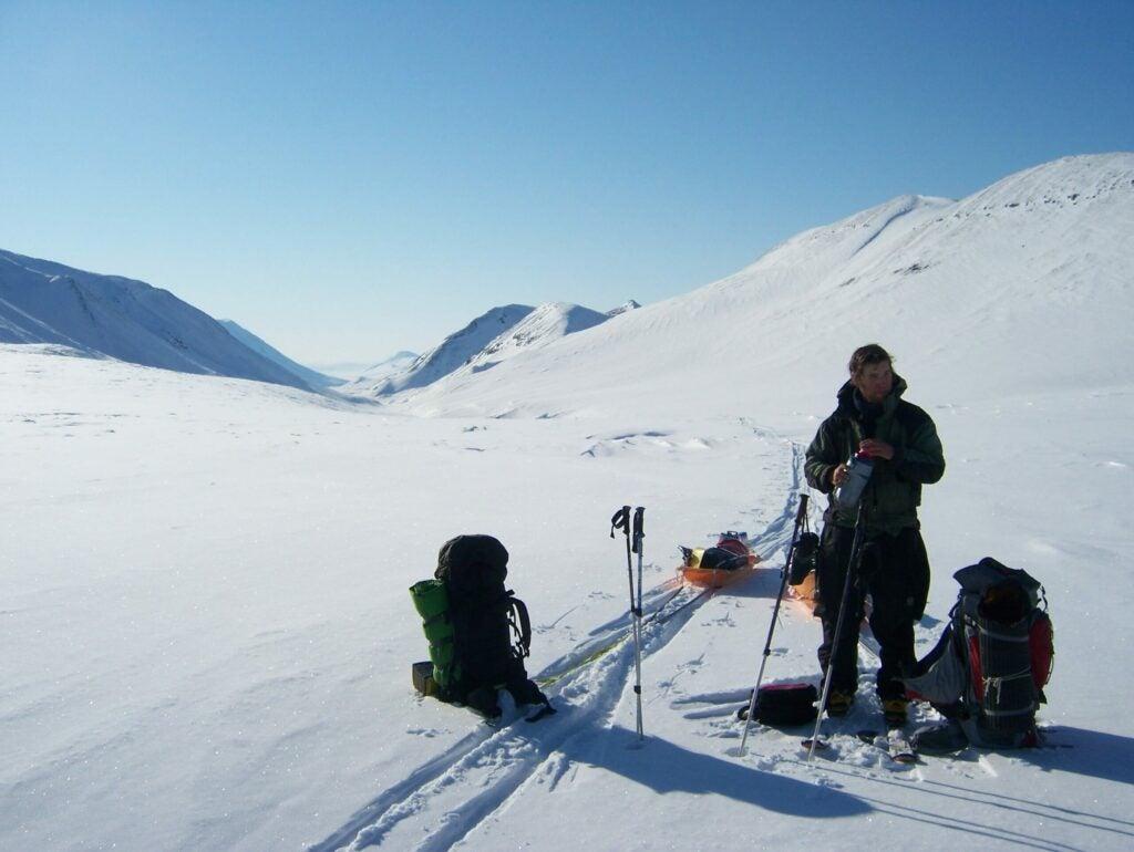 A month-long ski trip in ANWR