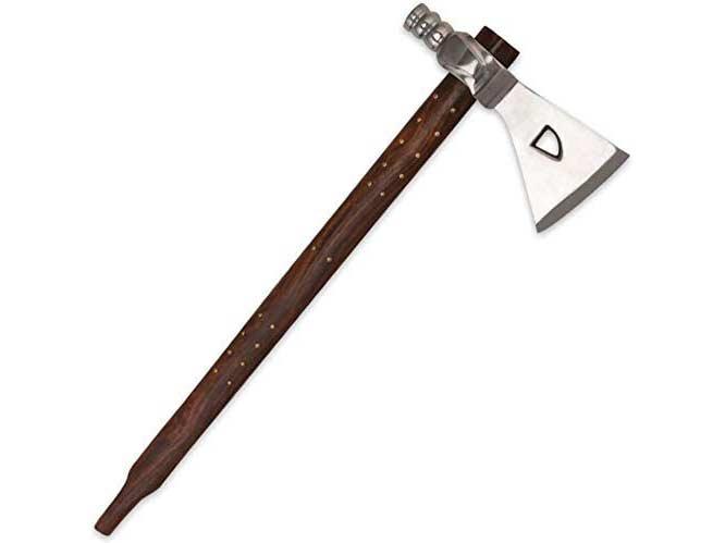 K EXCLUSIVE Replica Tribal Peace Pipe Tomahawk Axe