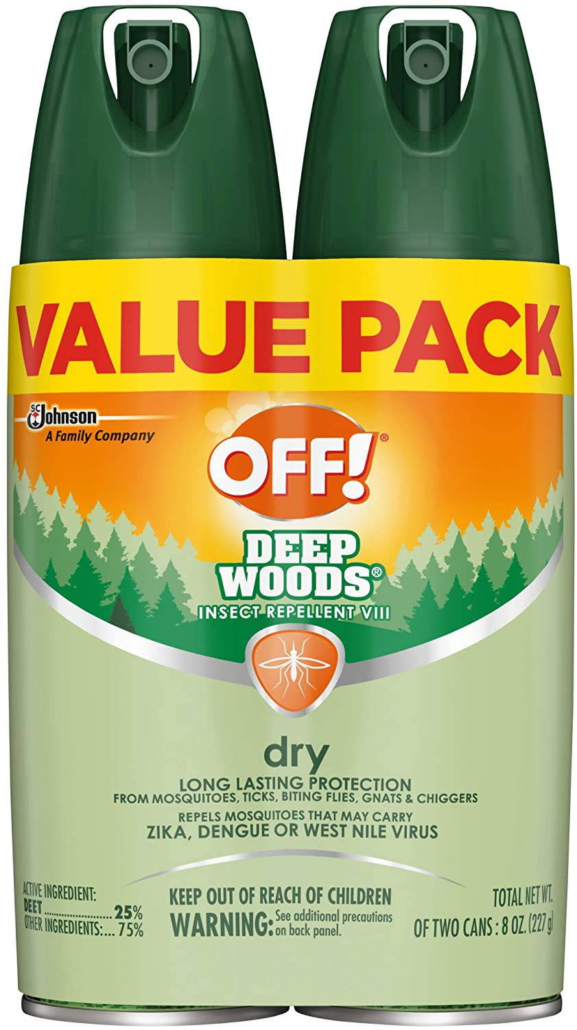 OFF Mosquito repellant with DEET