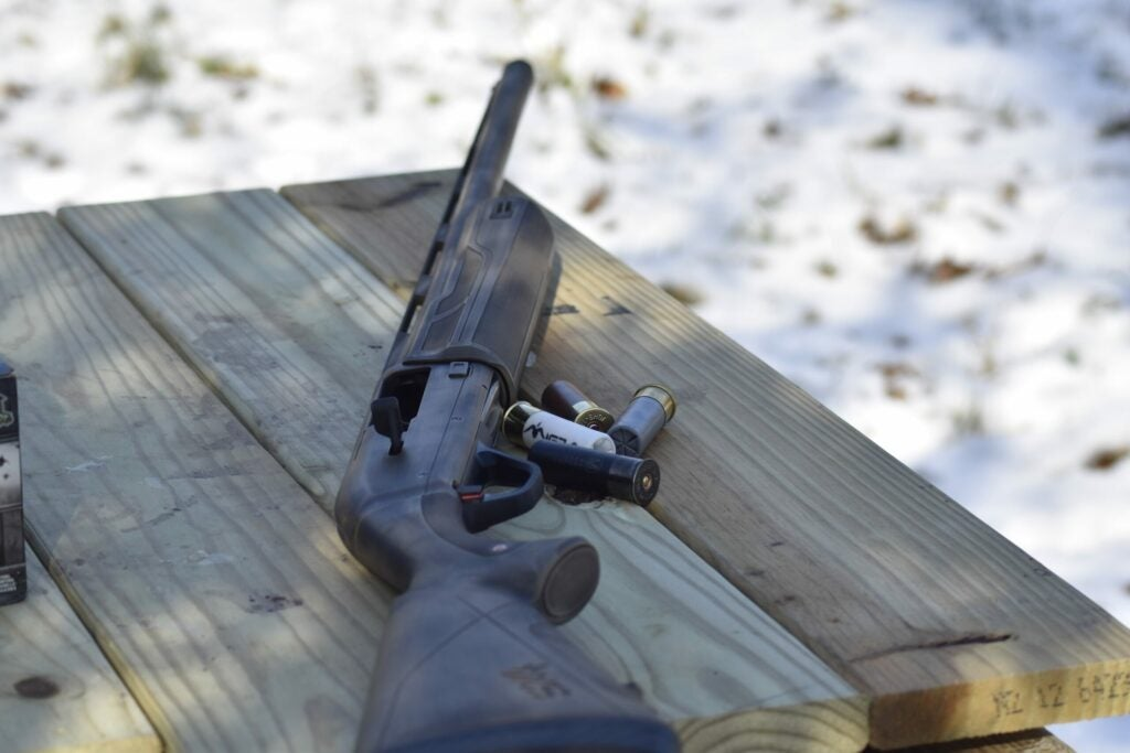 The author test four different shotshells at four different distances at the range.