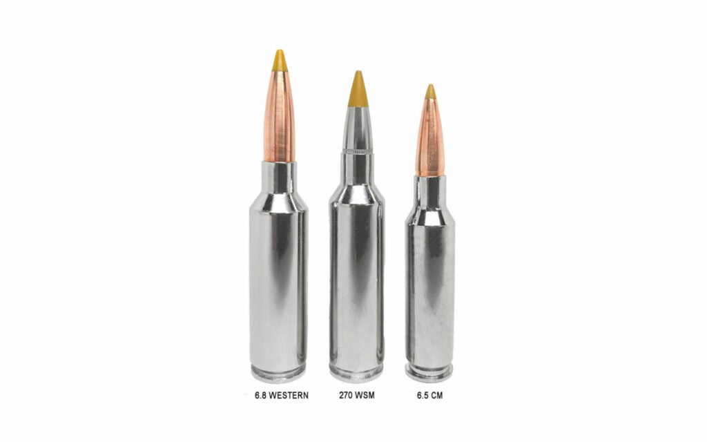 The 6.8 Western cartridge comparison.