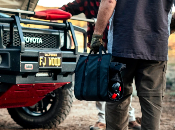 This tool kit from Pangolin is a must have for winter travel.