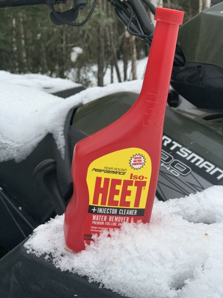 Iso-HEET will keep moisture out of your fuel tank, preventing breakdowns.
