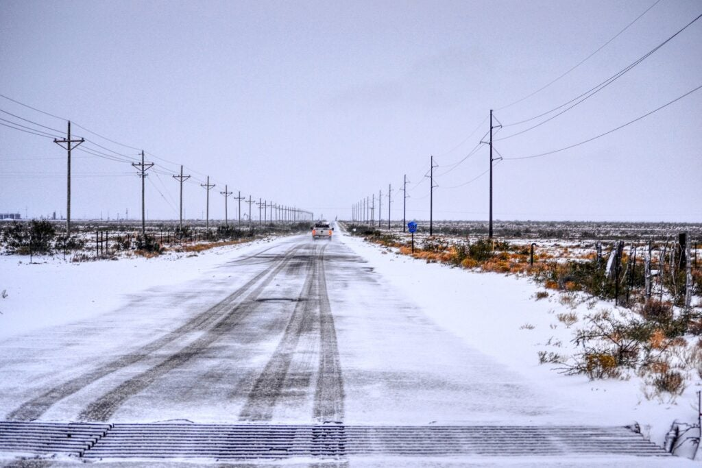 Be prepared this winter when you're on the road by keeping the right supplies in your truck.