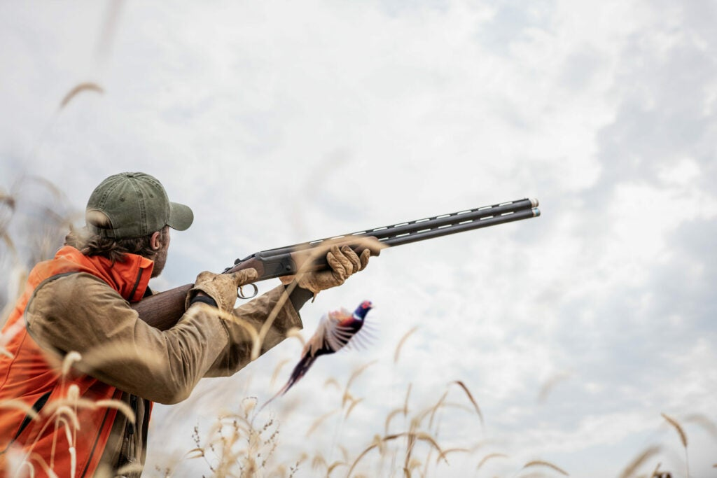 Mossberg over/unders are at home in the field or at the clays range.