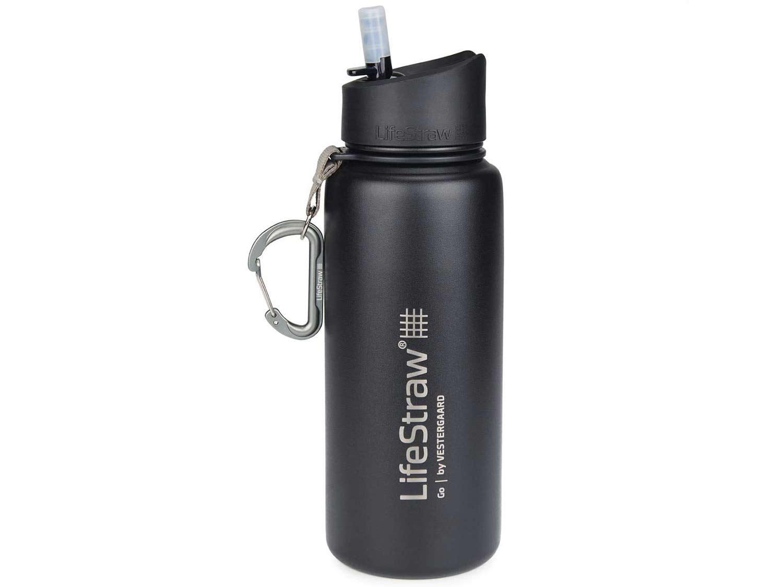 LifeStraw Go Stainless Steel Filter Bottle