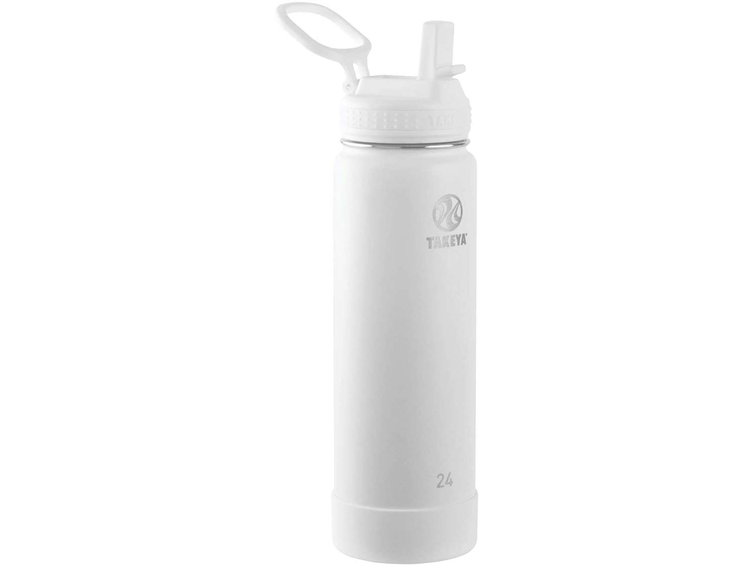 Takeya Actives Insulated Stainless Steel Water Bottle with Straw Lid