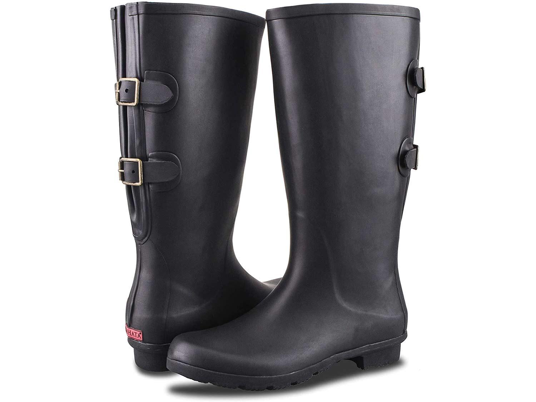 Rahata Adjustable Wide Calf Rain Boot