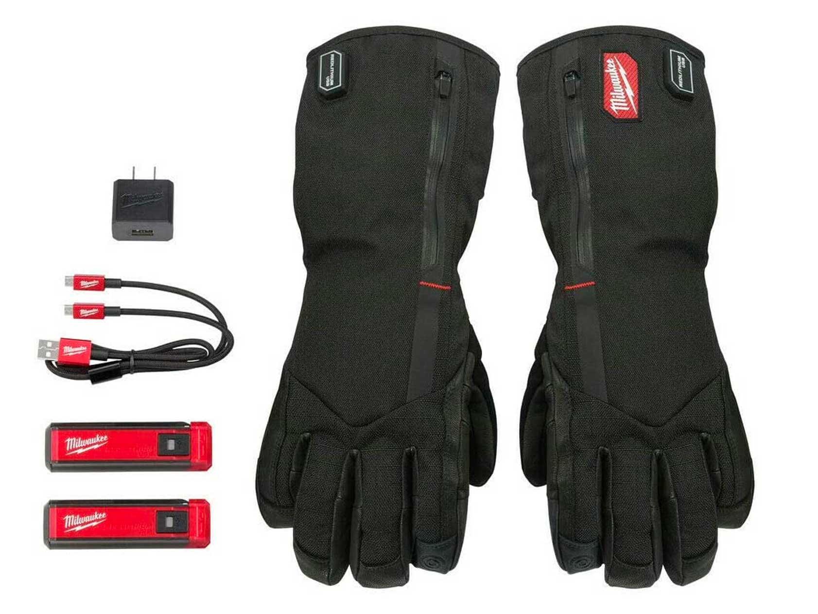 Milwaukee REDLITHIUM USB Heated Gloves with Battery and Charger