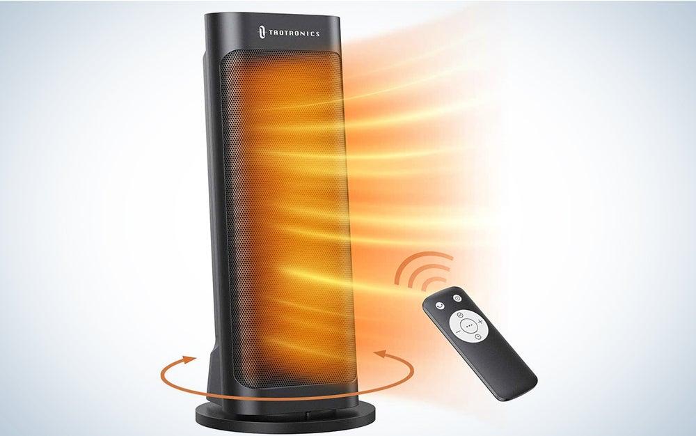 TaoTronics Ceramic Tower Oscillating Portable Heater