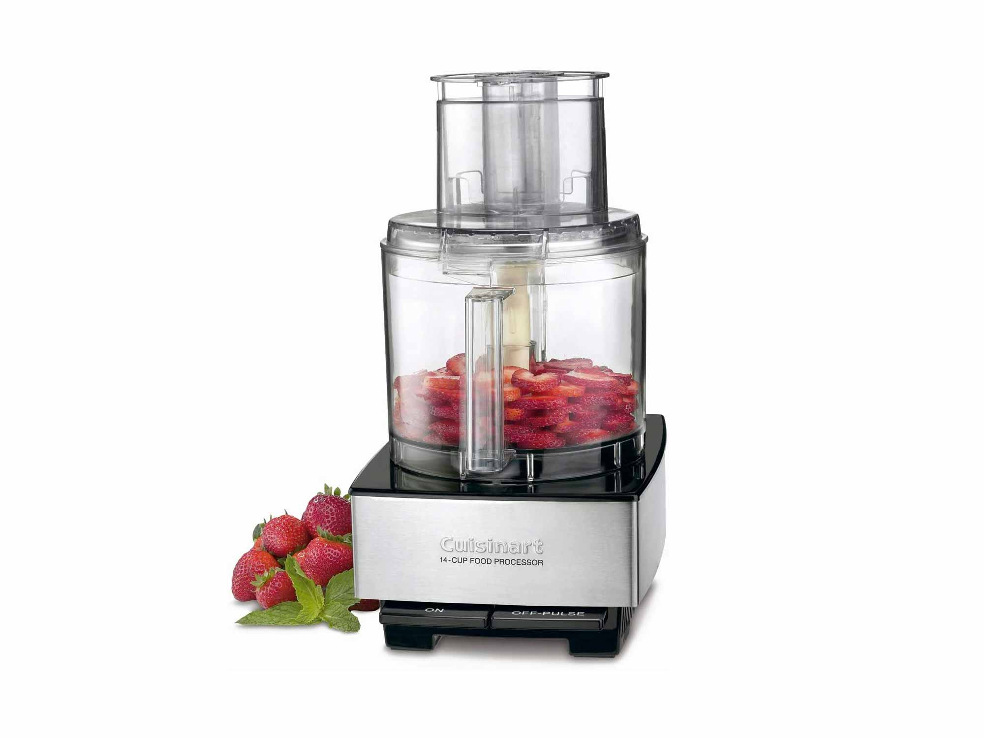 Cuisinart 14-Cup Food Processor, Brushed Stainless Steel - Silver