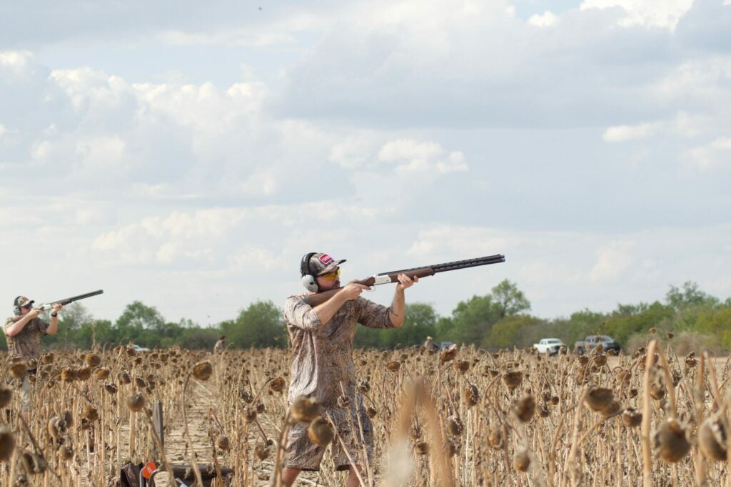 Private-land dove hunts can be done for a nominal fee.
