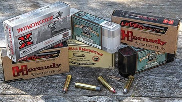 The .45/70s power comes from mass not speed.