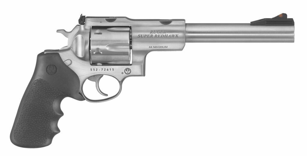 American-made, this revolver is for serious handgun hunters.