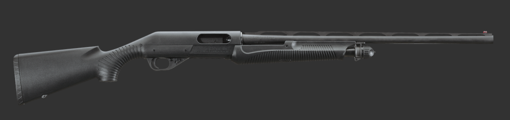 Benelli's affordable Nova has a one piece stock/receiver.