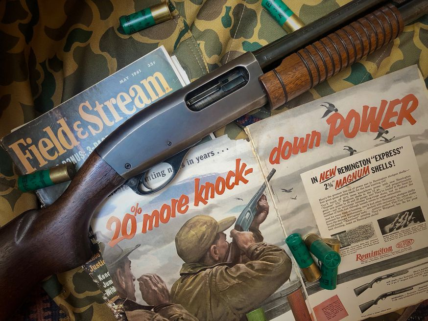 The first Remington 870s rolled off the production line in 1950.