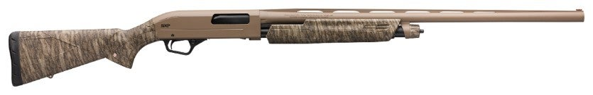 The SXP has a recoil-driven fore-end that makes it easier for shooters to operate the pump gun.