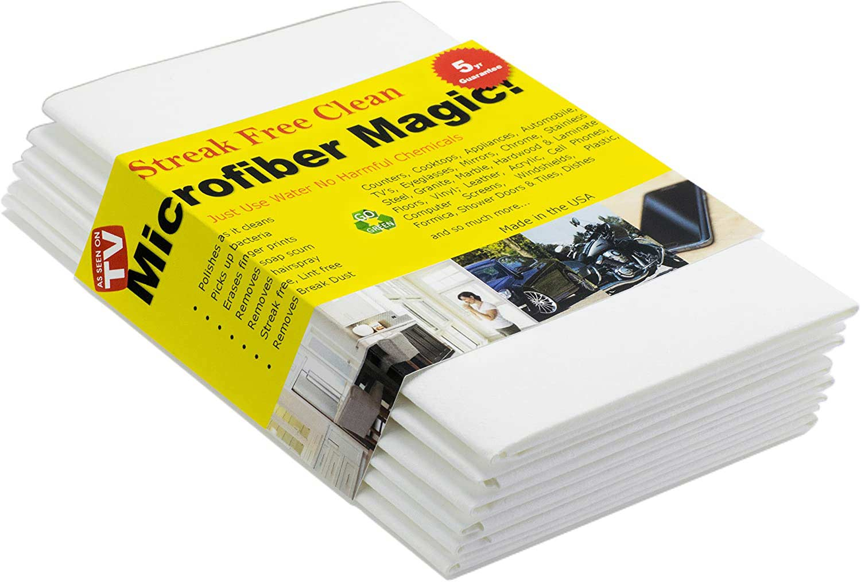 Streak Free Microfiber Magic Cloth