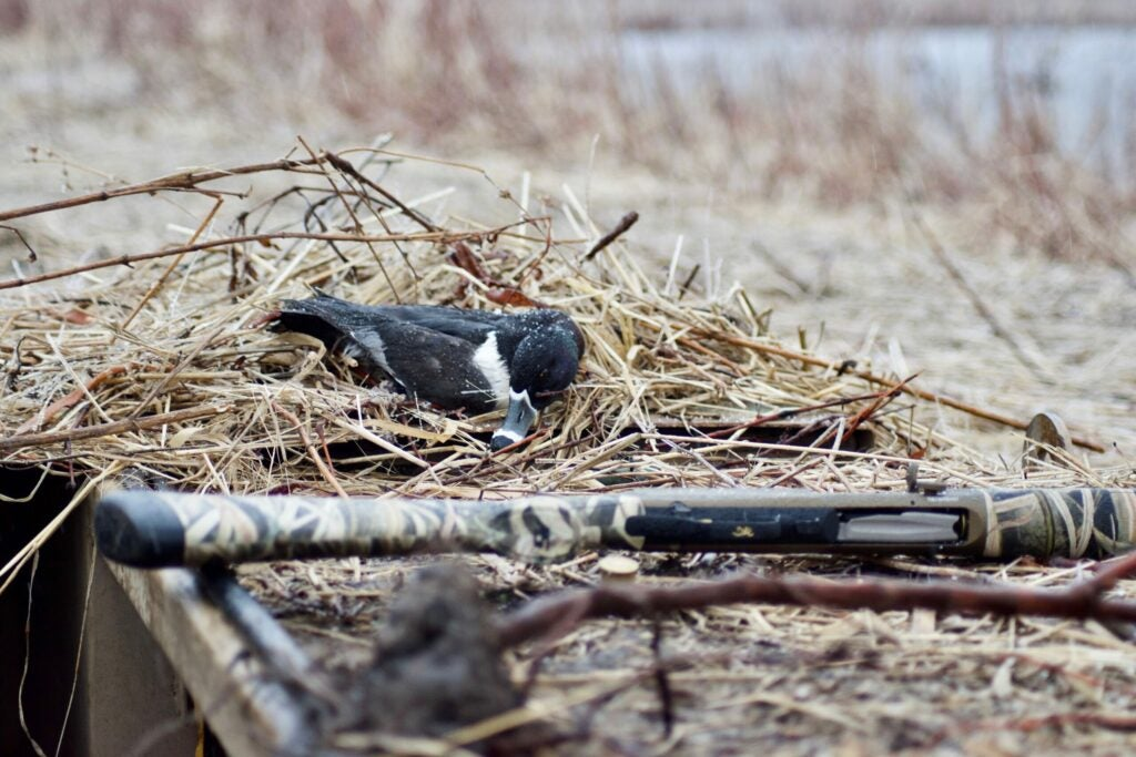 This is what most days hunting ducks look like, though social media would have you believe otherwise.