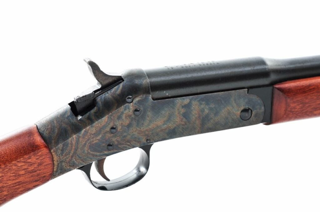 The H&R Topper 88 was a basic shotgun, but it did come with a color case-hardened receiver.