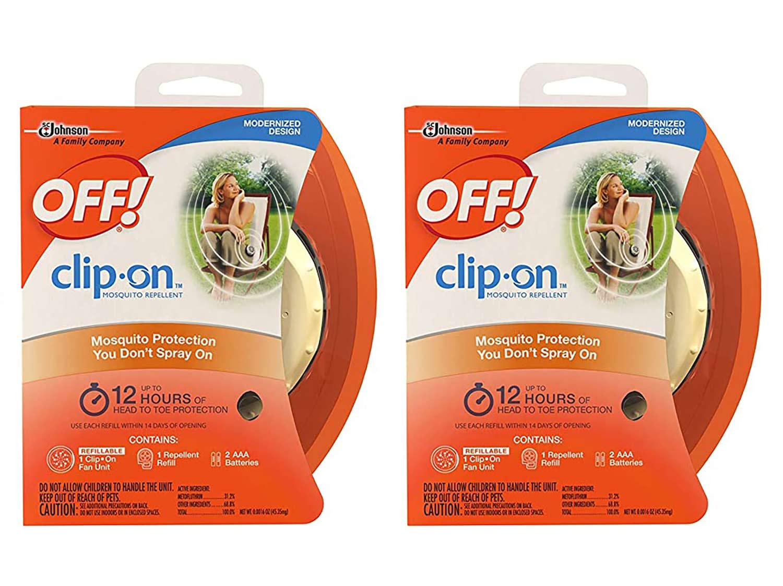 Off! Clip-On Fan