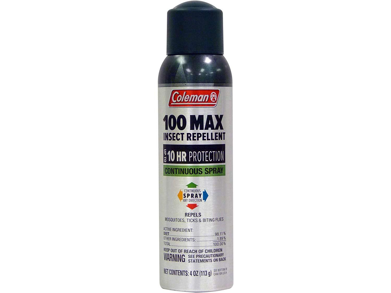 Coleman 100 Max 100% DEET Insect Repellent Spray