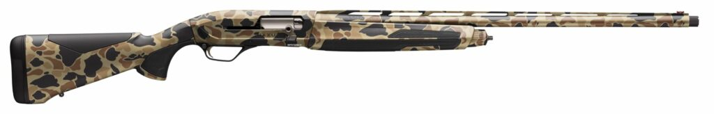 The Maxus II is available in this old-school vintage tan camo.