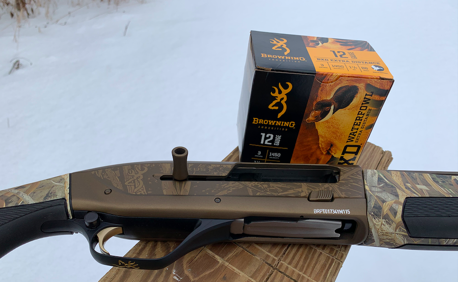 Browning has been extremely consciences of making sure its shotshells pattern well out of its guns.