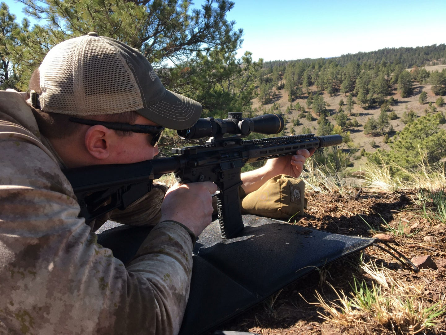 Your point of impact will change once you add a suppresser to your rifle.