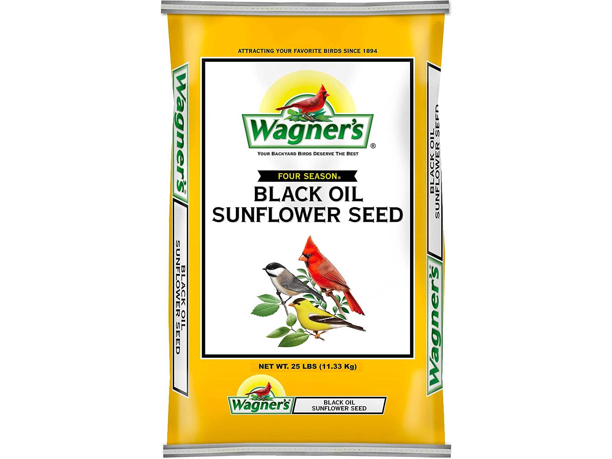 Wagner's Black Oil Bird Seed