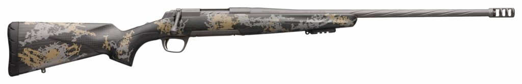 The Browning X-Bolt Mountain Pro in Tungsten finish makes for an excellent lightweight mountain rifle.