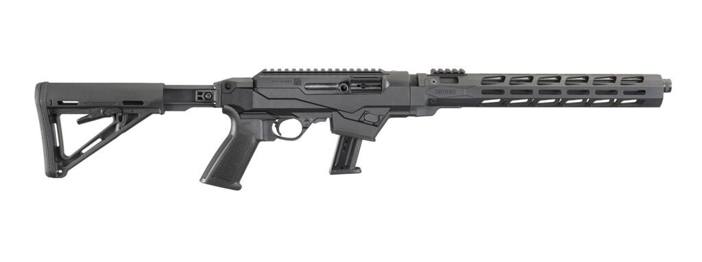 The Ruger PC Carbine Chassis Model.