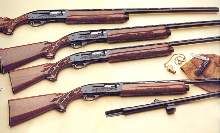 The 1100 was a favorite of skeet and trap shooters.