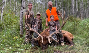 Lacey Lupien Tagged This Massive Bull Elk in Minnesota—On Her Anniversary