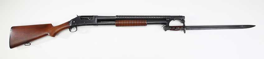 The 1897 shoots smokeless powder shotshells.