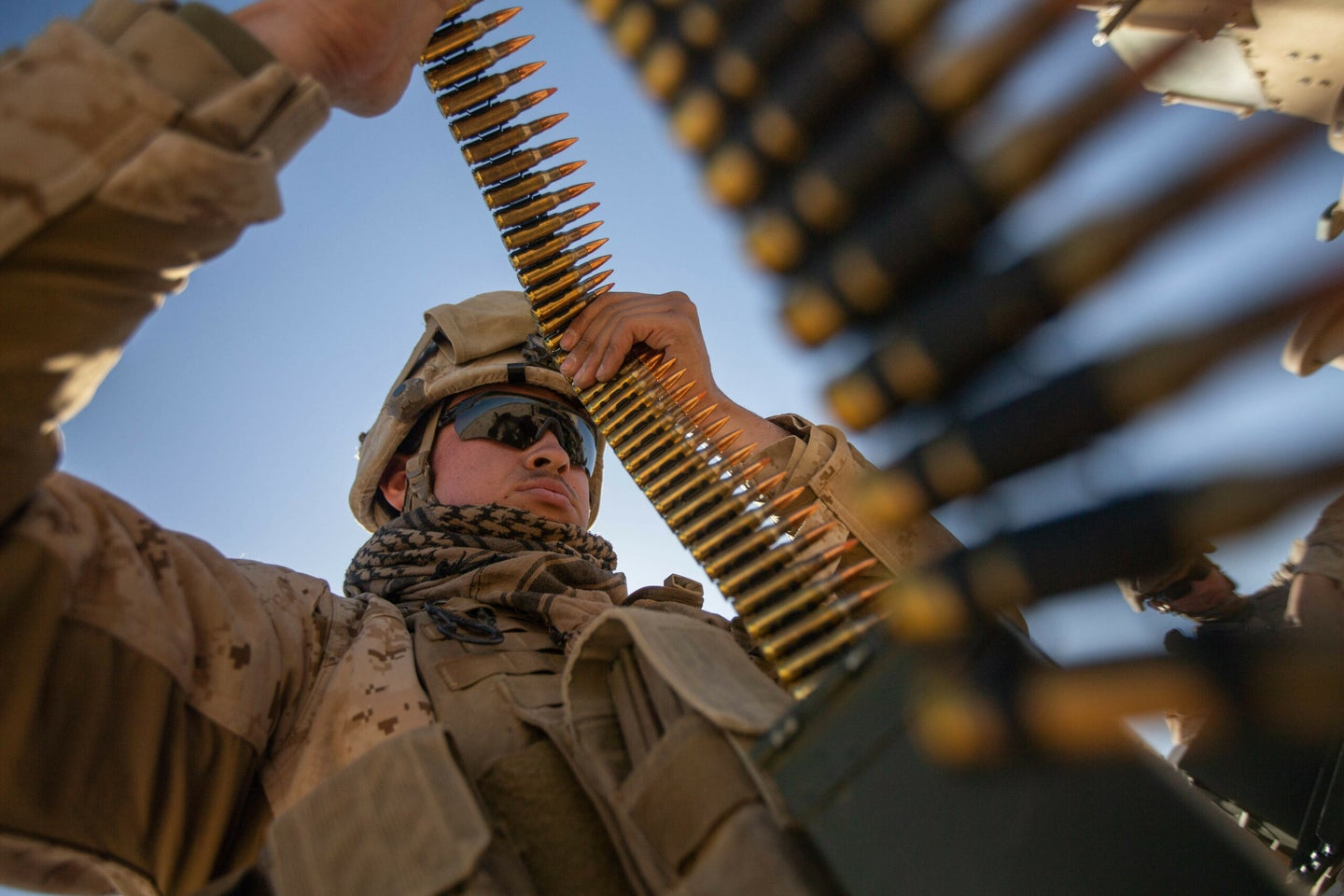 The military has its own ammo production plant and rarely uses civilian ammo plant capacity for its munitions.