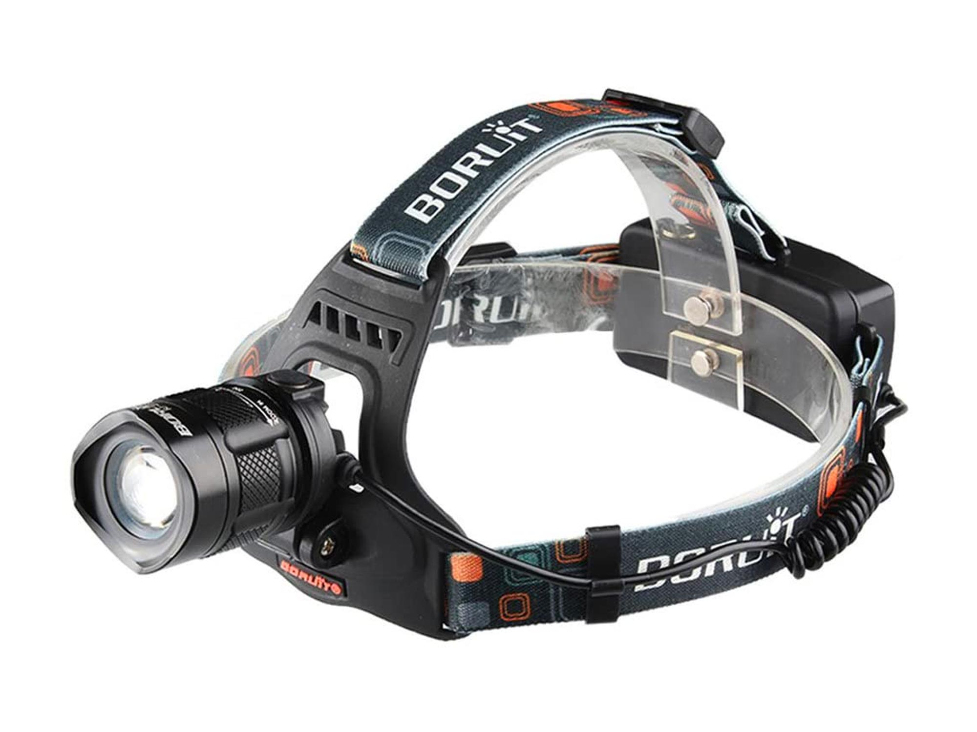 BESTSUN 2000 Lumens 5 Modes Zoomable Rechargeable LED Headlamp
