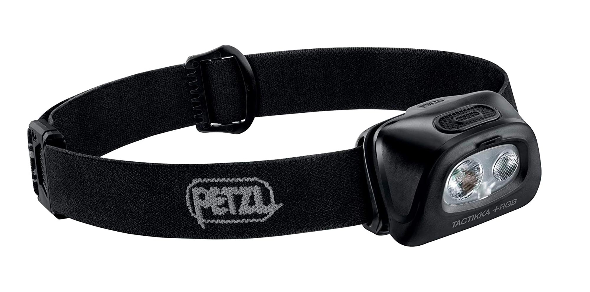 PETZL, TACTIKKA +RGB Stealth Headlamp with 350 Lumens for Fishing and Hunting