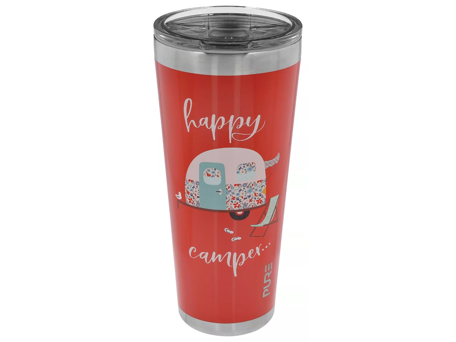 Bass Pro Shops Happy Camper Stainless Steel Tumbler