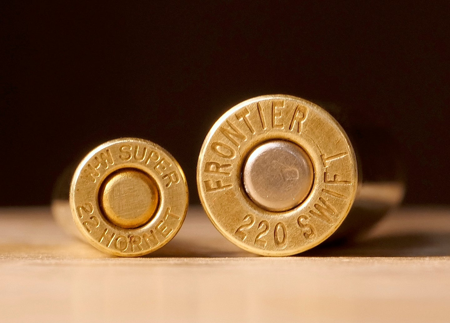The .22 Hornet wasn't even close to the .220 Swift when it came to muzzle velocity.